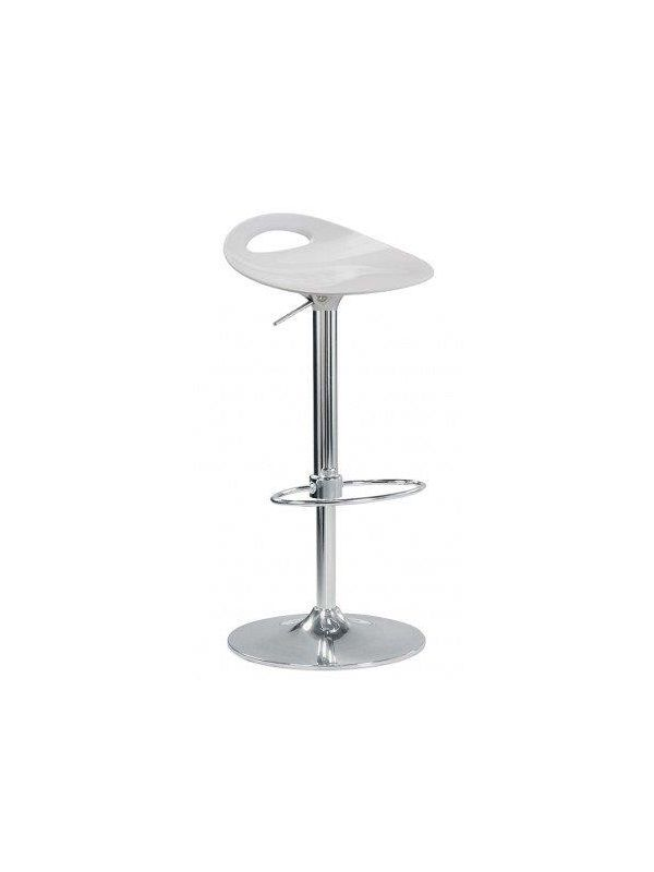 530W - Barstool white, in height adjustable