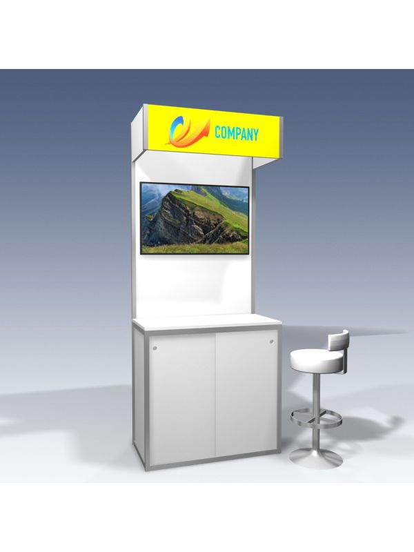 Led screen 40 inch including wall bracket only in combination with Kiosk