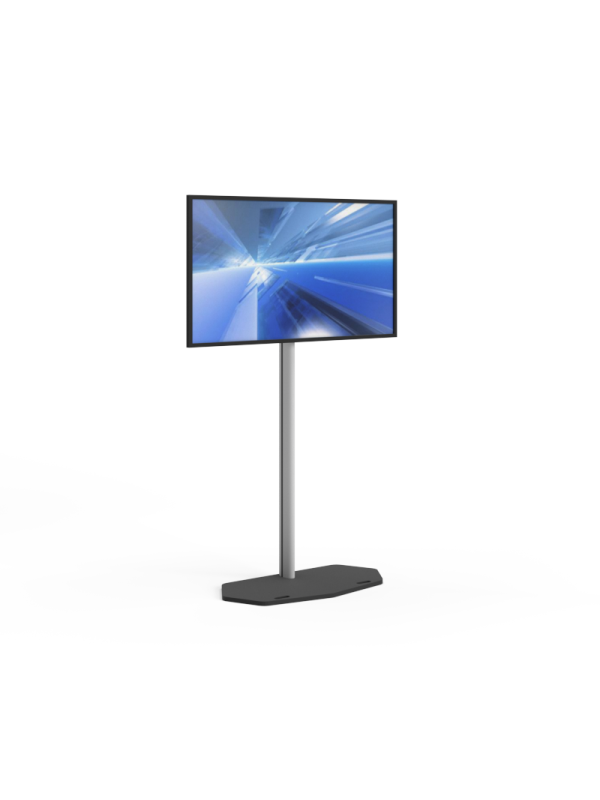 Led screen 55 inch including design stand