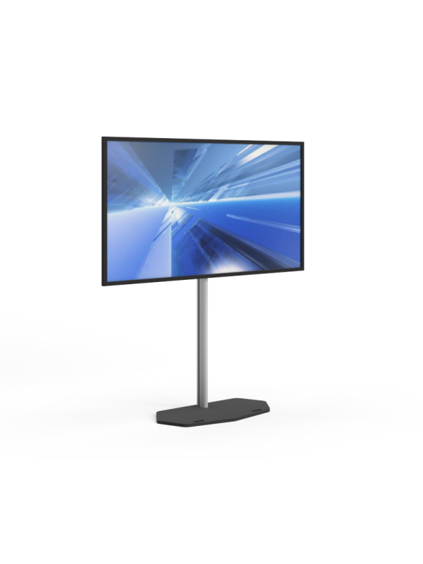 Led screen 75 inch including design stand