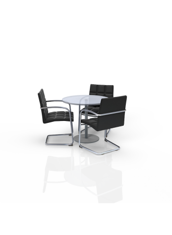 FB-LL-P17 - Furniture Package Low Black/Glass
