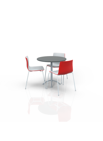 FB-ML-P12 - Furniture Package Low White/Red/Grey