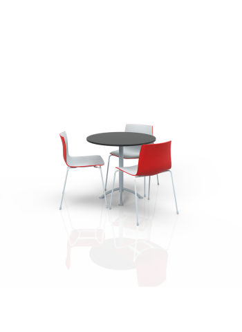 FB-ML-P9 - Furniture Package Low White/Red/Black