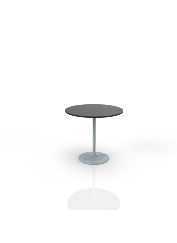 603Z - Table with black top O 80cm