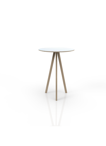 619 - Bar table with white top o 80cm