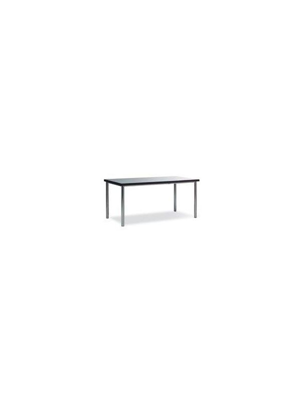 642GR - Table with grey top 160x80cm