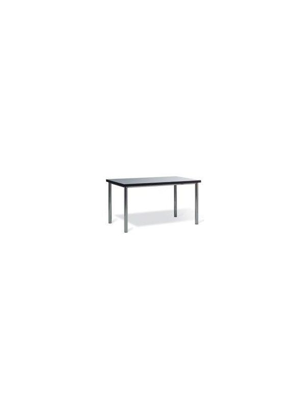 641GR - Table with grey top 135x80