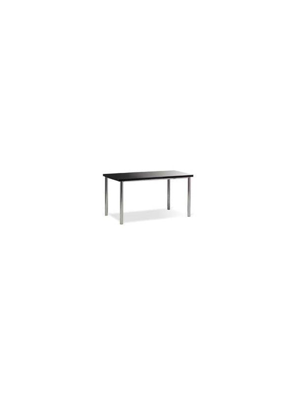 641Z - Table with black top 135x80cm