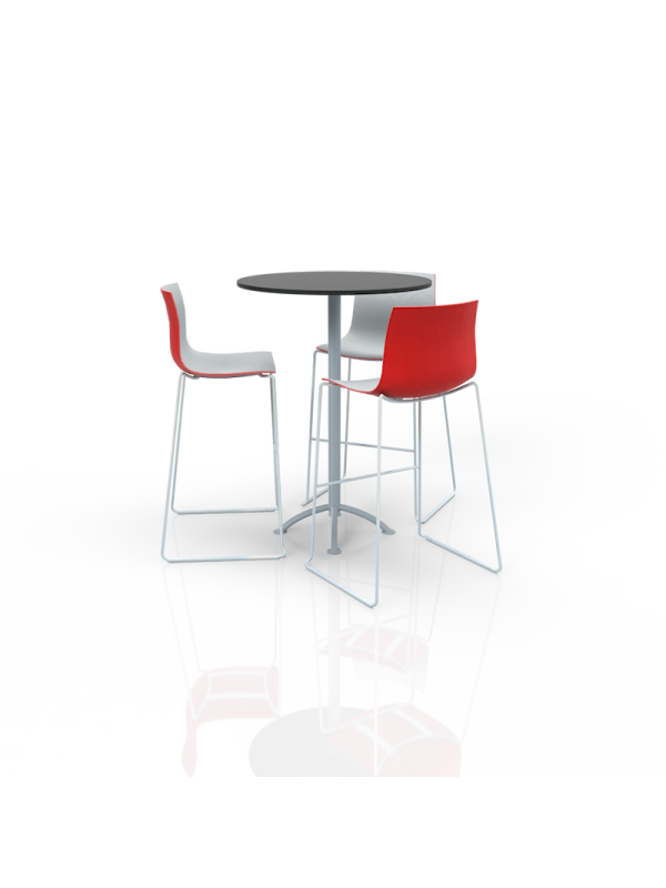FB-MH-P26 - Furniture Package High White/Red/Black
