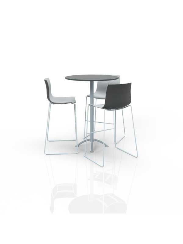 FB-MH-P30 - Furniture Package High White/Grey