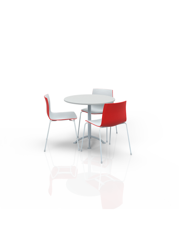 FB-ML-P6 - Furniture Package Low White/Red