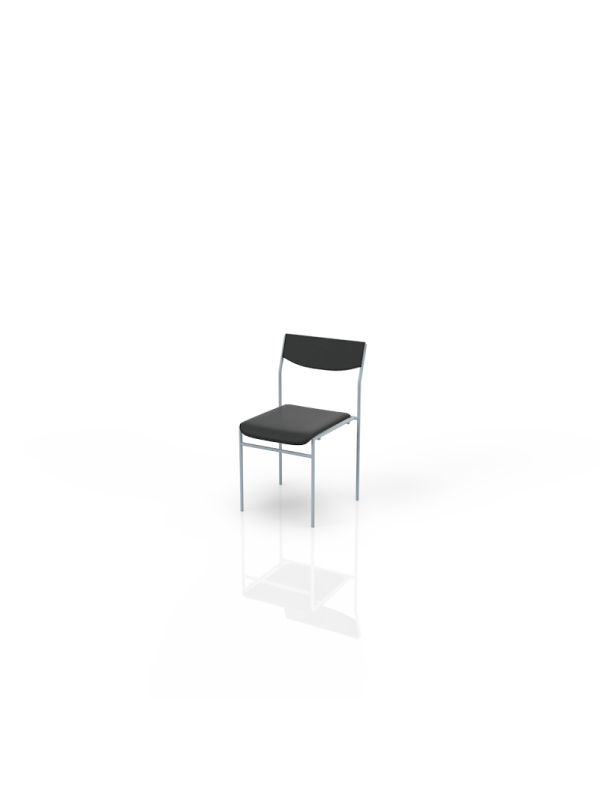 118Z - Chair anthracite, fabric