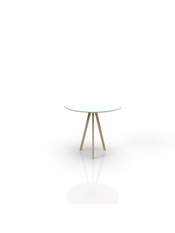 612 - Table with white top o 80cm