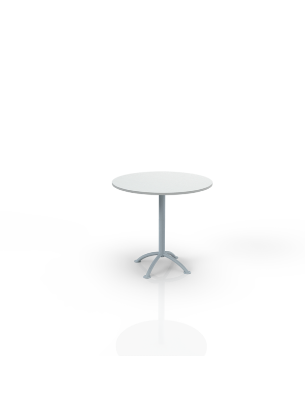627W - Table with white top O 80cm