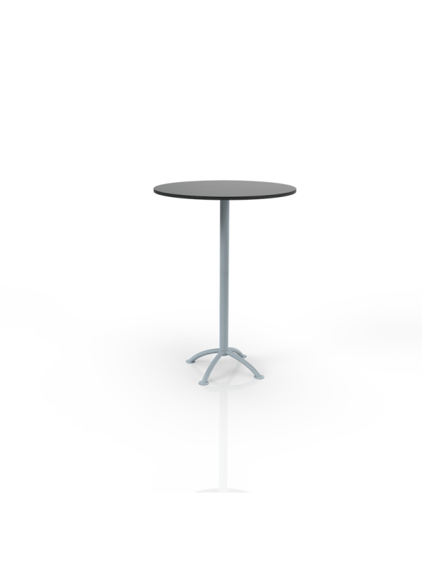 637Z - Bar table with black top O 80cm