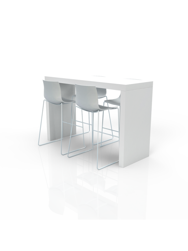 FB-MH-P35 - Furniture Package High White