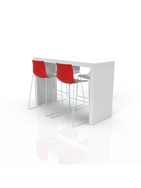 FB-MH-P36 - Furniture Package High White/Red