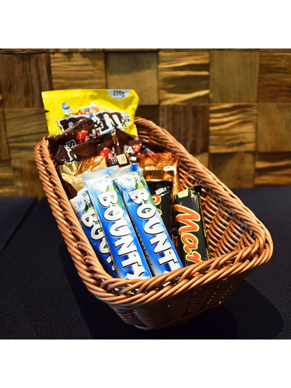 Basket candy bars